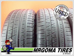 4 PIRELLI SCORPION VERDE A/S RFT XL 255/50/19 USED TIRES 7.9/32 RMNG AS 2555019
