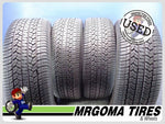 4 GOODYEAR ASSURANCE CS FUEL MAX 245/55/19 USED TIRES 9.5/32 RMNG 103T 2455519