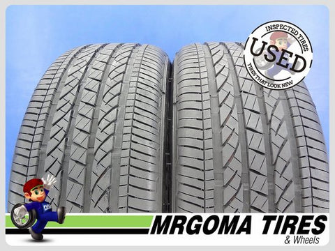 2 BRIDGESTONE DUELER H/P SPORT AS RFT XL 245/50/19 USED TIRES 8.5/32 RMNG 2455019
