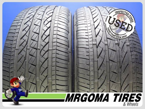 2 BRIDGESTONE DUELER H/P SPORT AS RFT XL 245/50/19 USED TIRES 7.8/32 RMNG 2455019