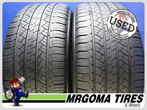2 MICHELIN LATITUDE TOUR HP ZP RFT 255/50/19 USED TIRES 7.2/32 RMNG BMW 2555019
