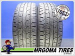 2 GENERAL GRABBER HTS60 235/55/19 USED TIRES 9.3/32 RMNG MERCEDES 101H 2355519