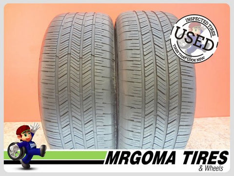 2 GOODYEAR EAGLE LS2 RFT 255/50/19 USED TIRES 7.4/32 RMNG BMW NO PATCH 2555019