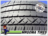 2 DUNLOP GRANDTREK TOURING A/S 235/55/19 USED TIRES 6.7/32 RMNG NO PATCH 2355519
