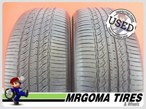 2 TOYO OPEN COUNTRY A20 245/55/19 USED TIRES 7.7/32 RMNG 245/55R19 103T 2455519