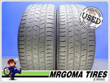 2 CONTINENTAL CONTIPROCONTACT SSR RFT 225/50/18 USED TIRES 6.8/32 RMNG BMW 2255018