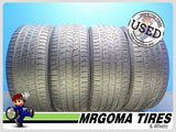 4 CONTINENTAL CONTIPROCONTACT RFT 225/50/17 USED TIRES 7.0/32 RMNG BMW X1 ★ 2255017
