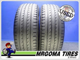 2 GOODYEAR EFFICIENTGRIP SUV 4X4 235/55/19 USED TIRES 8.3/32 RMNG 105V 2355519
