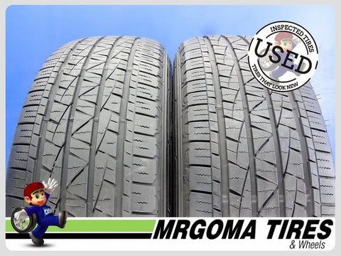 2 FIRESTONE DESTINATION LE2 245/60/18 USED TIRES 7.2/32 RMNG 245/60R18 2456018