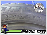 2 MICHELIN LATITUDE TOUR HP DT ZP RFT 255/50/19 USED TIRES 7.3/32 RMNG BMW 2555019