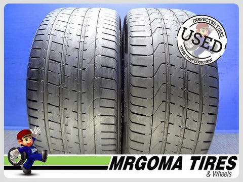 2 PIRELLI P ZERO B1 XL 275/35/21 USED TIRES 6.3/32 RMNG NO PATCH 103Y PZERO 2753521