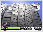 2 CONTINENTAL CROSSCONTACT LX SPORT AO 255/45/20 USED TIRES 8.8/32 RMNG 2554520