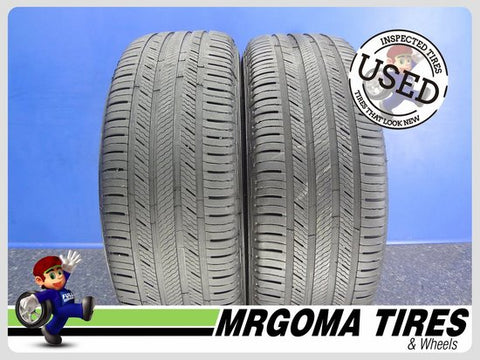 2 MICHELIN PREMIER LTX XL 235/60/18 USED TIRES 6.4/32 RMNG PORSCHE 107V 2356018
