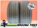 2 MICHELIN LATITUDE TOUR HP 235/55/19 USED TIRES NO PATCH 6.5/32 RMNG 101V 2355519