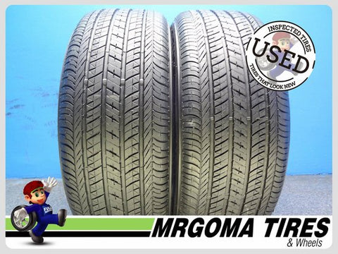 2 BRIDGESTONE TURANZA EL 450 RFT 225/50/18 USED TIRES 8.4/32 RMNG BMW 2255018