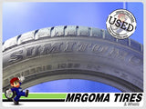 2 SUMITOMO HTR A/S P02 XL 235/55/19 USED TIRES 90% RMNG MERCEDES 105W 2355519