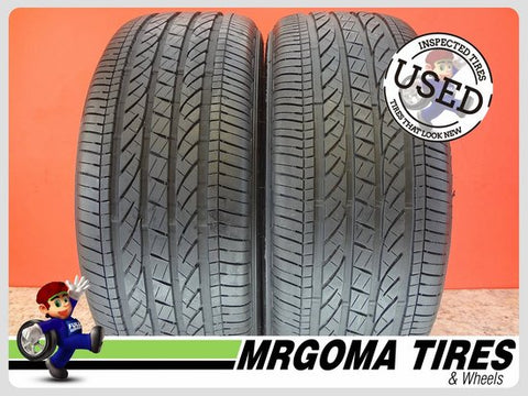 2 BRIDGESTONE DUELER HP SPORT AS RFT XL 245/50/19 USED TIRES 8.5/32 RMNG 2455019