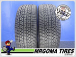 2 GOODYEAR ASSURANCE CS FUEL MAX 245/55/19 USED TIRES 9.7/32 RMNG 103T 2455519