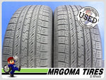 2 TOYO OPEN COUNTRY A20 235/55/18 USED TIRES 8.4/32 RMNG MERCEDES 100H 2355518