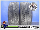 2 GOODYEAR ASSURANCE CS FUEL MAX 245/55/19 USED TIRES 8.2/32 RMNG 103T 2455519