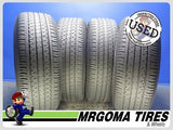 4 YOKOHAMA GEOLANDAR G91 225/60/18 USED TIRES 6.1/32 RMNG NO PATCH 100H 2256018
