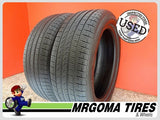2 PIRELLI CINTURATO P7 AS RFT 245/50/19 USED TIRES 8.0/32 RMNG BMW 2017 DOT 2455019