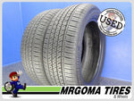 2 BRIDGESTONE ECOPIA H/L 422 PLUS RFT 235/55/19 USED TIRES 9.1/32 RMNG BMW 2355519