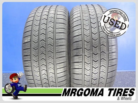 2 GOODYEAR EAGLE SPORT A/S RFT 225/50/18 USED TIRES 9.6/32 RMNG BMW 95V 2255018