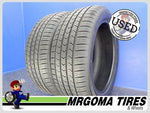 2 GOODYEAR EAGLE SPORT A/S RFT 225/50/18 USED TIRE 10/32 RMNG 2018 DOT 2255018