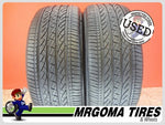 2 BRIDGESTONE DUELER H/P SPORT AS RFT XL 245/50/19 USED TIRES 8.1/32 RMNG 2455019