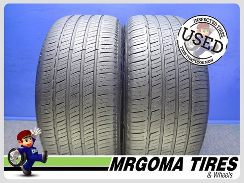2 MICHELIN PRIMACY MXM4 ZP RFT 245/50/18 USED TIRES 6.7/32 RMNG NO PATCH 2455018