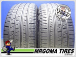 2 PIRELLI SCORPION VERDE A/S RFT XL 255/50/19 USED TIRES 8.0/32 RMNG 107H 2555019