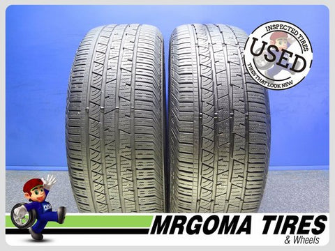 2 CONTINENTAL CROSSCONTACT LX SPORT 245/60/18 USED TIRES 7.2/32 RMNG 105T 2456018