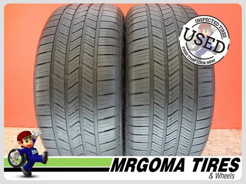 2 GOODYEAR EAGLE LS2 RFT 245/50/18 USED TIRES 6.7/32 RMNG BMW ★ X3 X4 100V 2455018