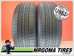 2 TOYO OPEN COUNTRY A20 245/55/19 USED TIRES 7.9/32 RMNG NO PATCH 103S 2455519