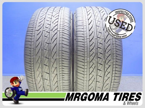 2 BRIDGESTONE DUELER H/P SPORT AS RFT 245/50/19 USED TIRES 8.7/32 RMNG BMW 2455019