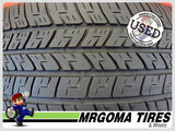 2 GOODYEAR EAGLE RS-A 225/60/18 USED TIRES 8.1/32 RMNG BMW X3 X4 99W 2256018