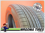 2 PIRELLI CINTURATO P7 A/S RFT XL 225/60/18 USED TIRES 7.7/32 RMNG BMW X4 2256018