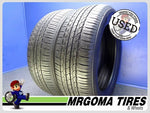 2 TOYO OPEN COUNTRY A20 245/55/19 USED TIRES 8.2/32 RMNG NO PATCH 103T 2455519
