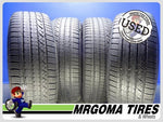 4 DUNLOP GRANDTREK TOURING A/S 235/55/19 USED TIRES 7/32 RMNG PORSCHE 2355519