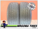 2 BRIDGESTONE DUELER HP SPORT AS RFT XL 245/50/19 USED TIRES 8.9/32 RMNG 2455019