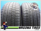 2 PIRELLI SCORPION VERDE AS MOE RFT 235/60/18 USED TIRES 9.5/32 RMNG BMW 2356018
