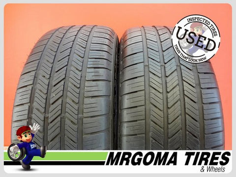 2 GOODYEAR EAGLE LS2 AO 235/55/19 USED TIRES 7.7/32 RMNG PORSCHE MACAN 2355519
