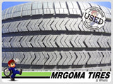 2 GOODYEAR EAGLE SPORT A/S RFT M+S 225/50/18 USED TIRES 9.6/32 RMNG BMW 2255018