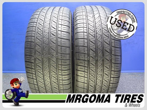 2 DUNLOP SP SPORT 5000 225/50/18 USED TIRES 8.4/32 RMNG BMW X2 2017 DOT 2255018