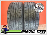 2 GOODYEAR EAGLE LS2 225/50/18 USED TIRES 7.7/32 RMNG MERCEDES V-CLASS 95H 2255018