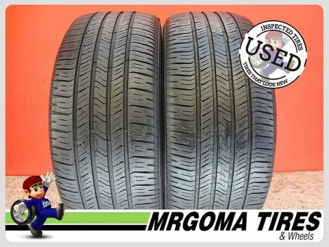 2 GOODYEAR EAGLE RS-A 225/60/18 USED TIRES 6.2/32 RMNG NO PATCH BMW X3 2256018