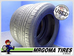 2 MICHELIN PREMIER LTX M+S 245/60/18 USED TIRES 6.4/32 RMNG 2017 DOT 105V 2456018