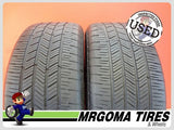 2 GOODYEAR EAGLE LS2 RFT XL 255/50/19 USED TIRES 66% RMNG BMW X5 107H 2555019