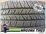 2 GOODYEAR EAGLE RS-A M+S 225/60/18 USED TIRES 7.5/32 RMNG NO PATCH 99W 2256018